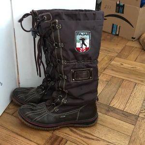 Pajar Brown Grip Tall Snow Boot